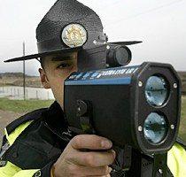 Alberta Sheriffs radar speed