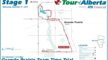 Tour of Alberta Stage 1