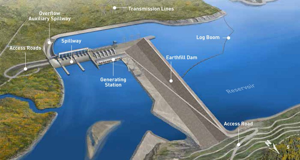 Day for site C dam