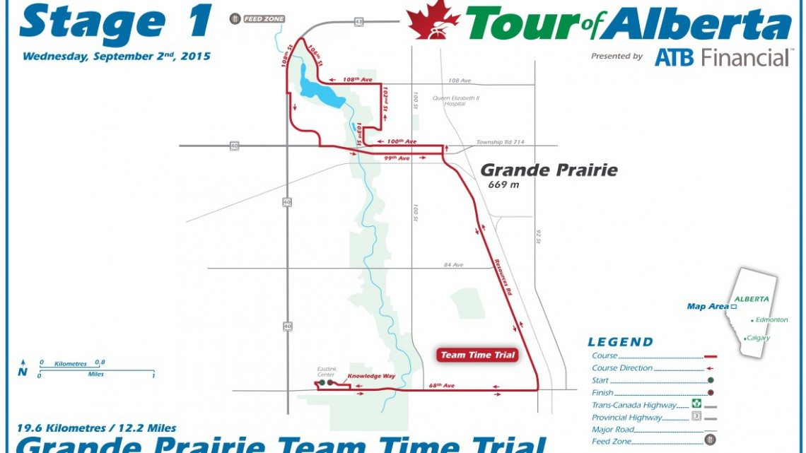 Be ready for road closures on Tour of Alberta race route - My ...