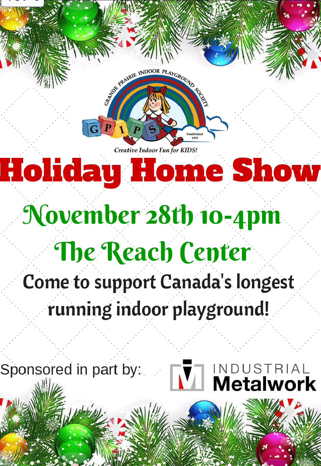GPIPS Holiday Home Show - My Grande Prairie Now