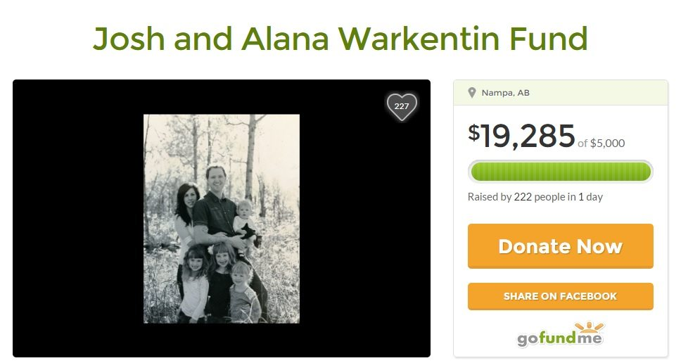 UPDATE: More than $20K raised for family of three year old