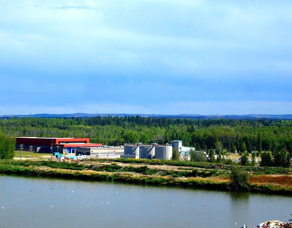 Aquatera's water and wastewater treatment facility, Aquatera
