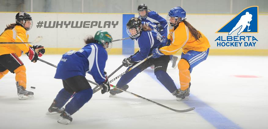 Midget hockey female major Alberta