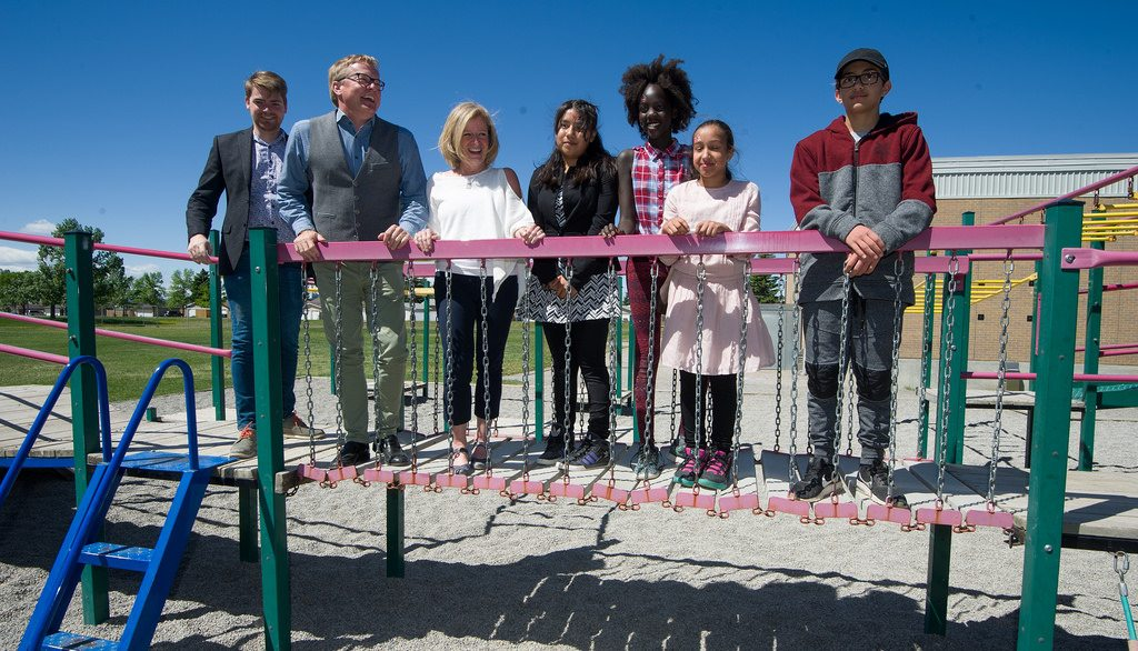 New Schools To Get 250000 Provincial Playground Grant My Grande