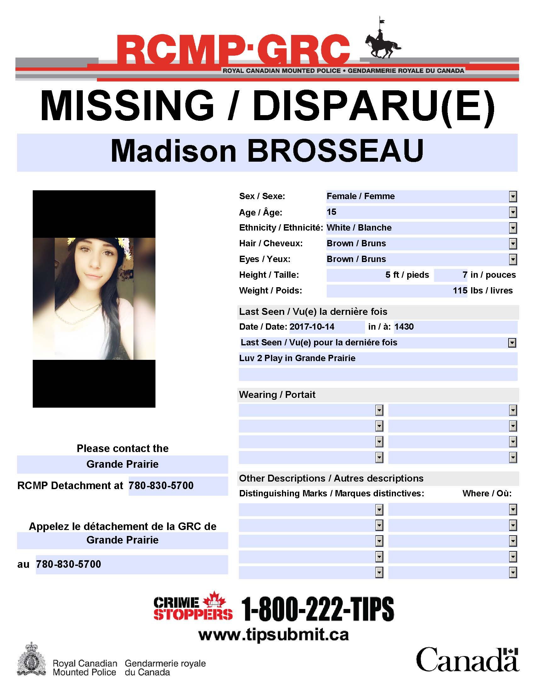 Tags Missing Teen Found Safe 20