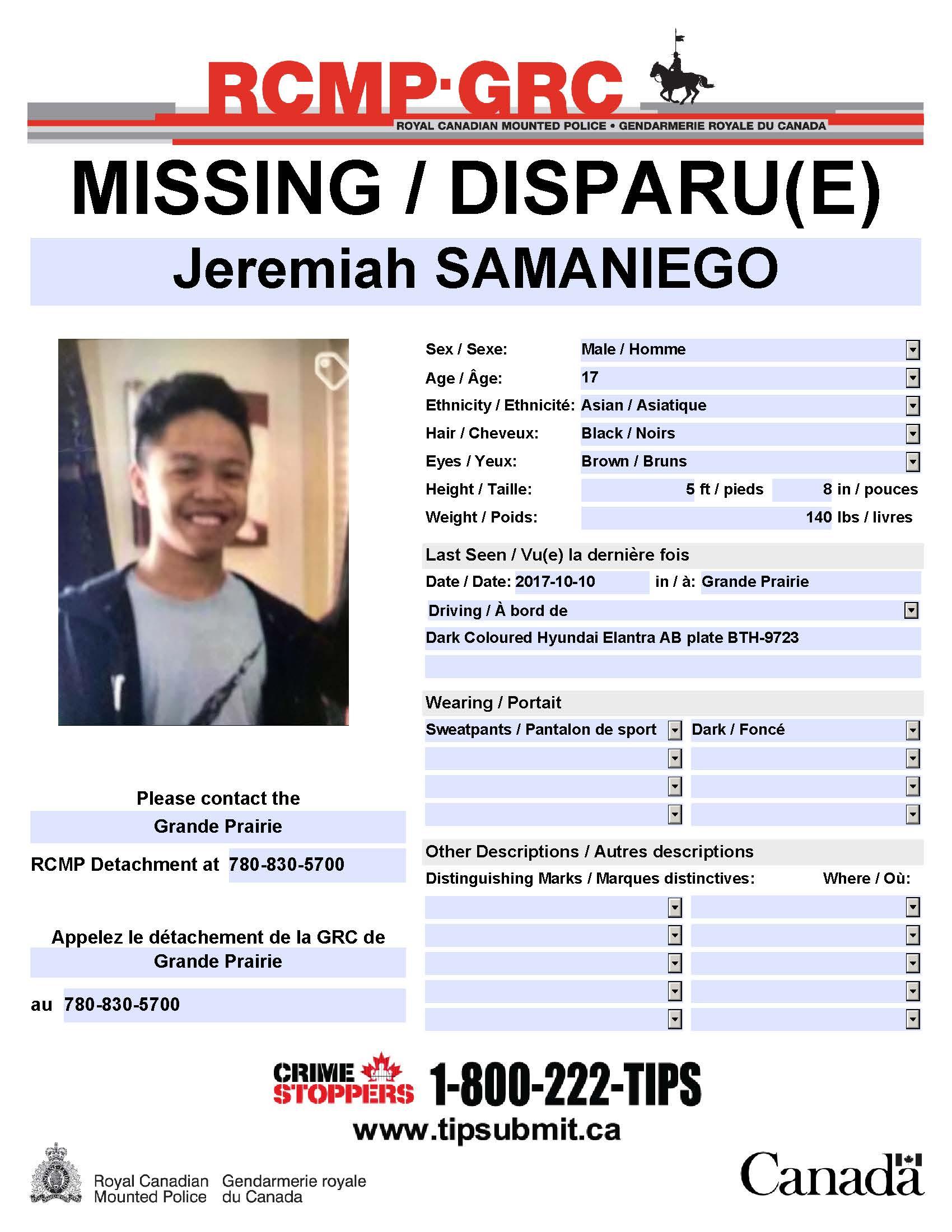 Update Missing Teen Found Safe My Grande Prairie Now