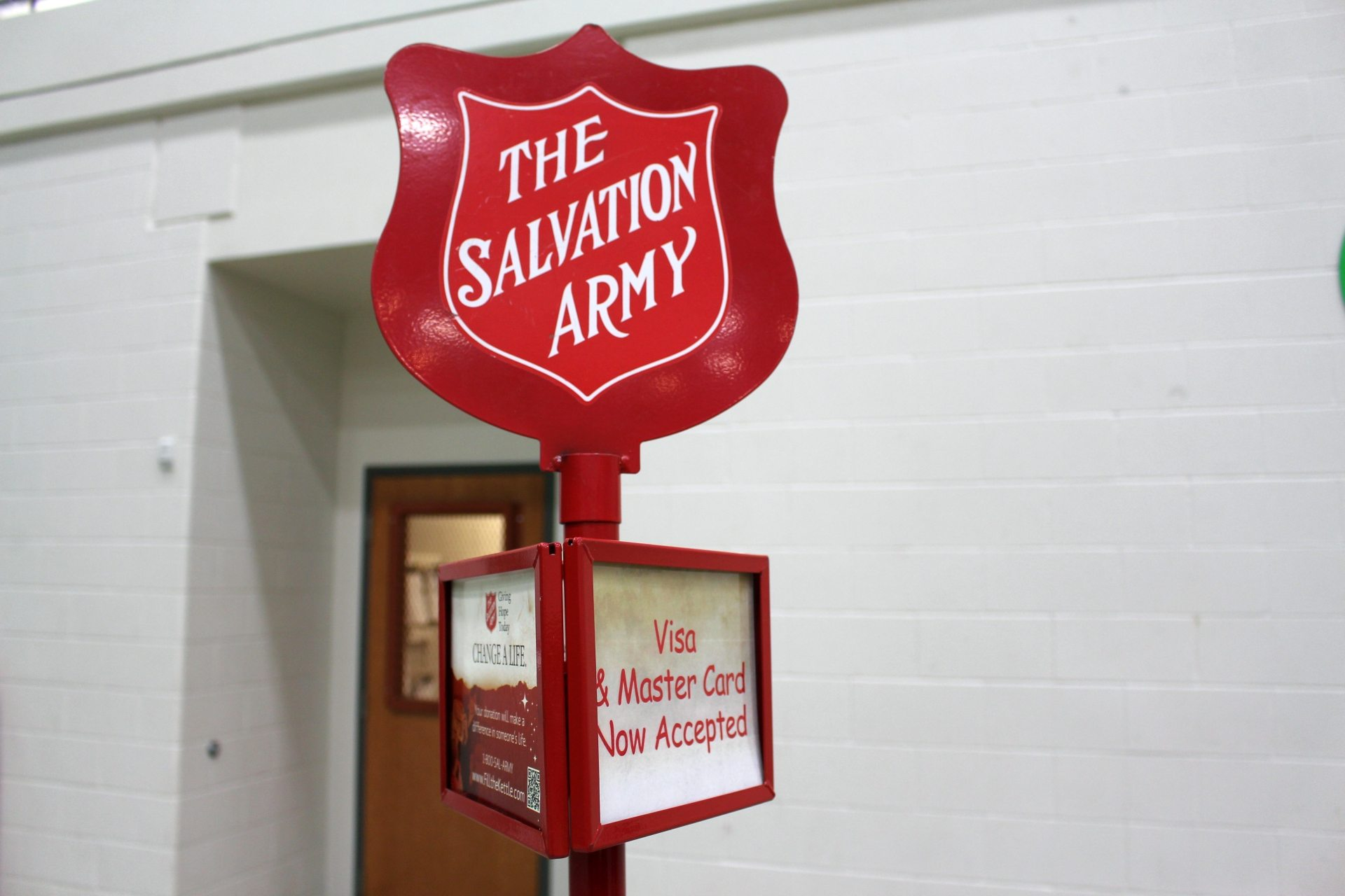 Red Kettle Campaign donations down; volunteers crank up the bells