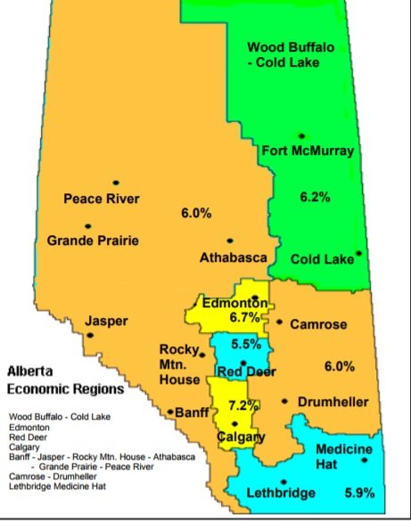 Red Deer area unemployment rate still lowest in Alberta