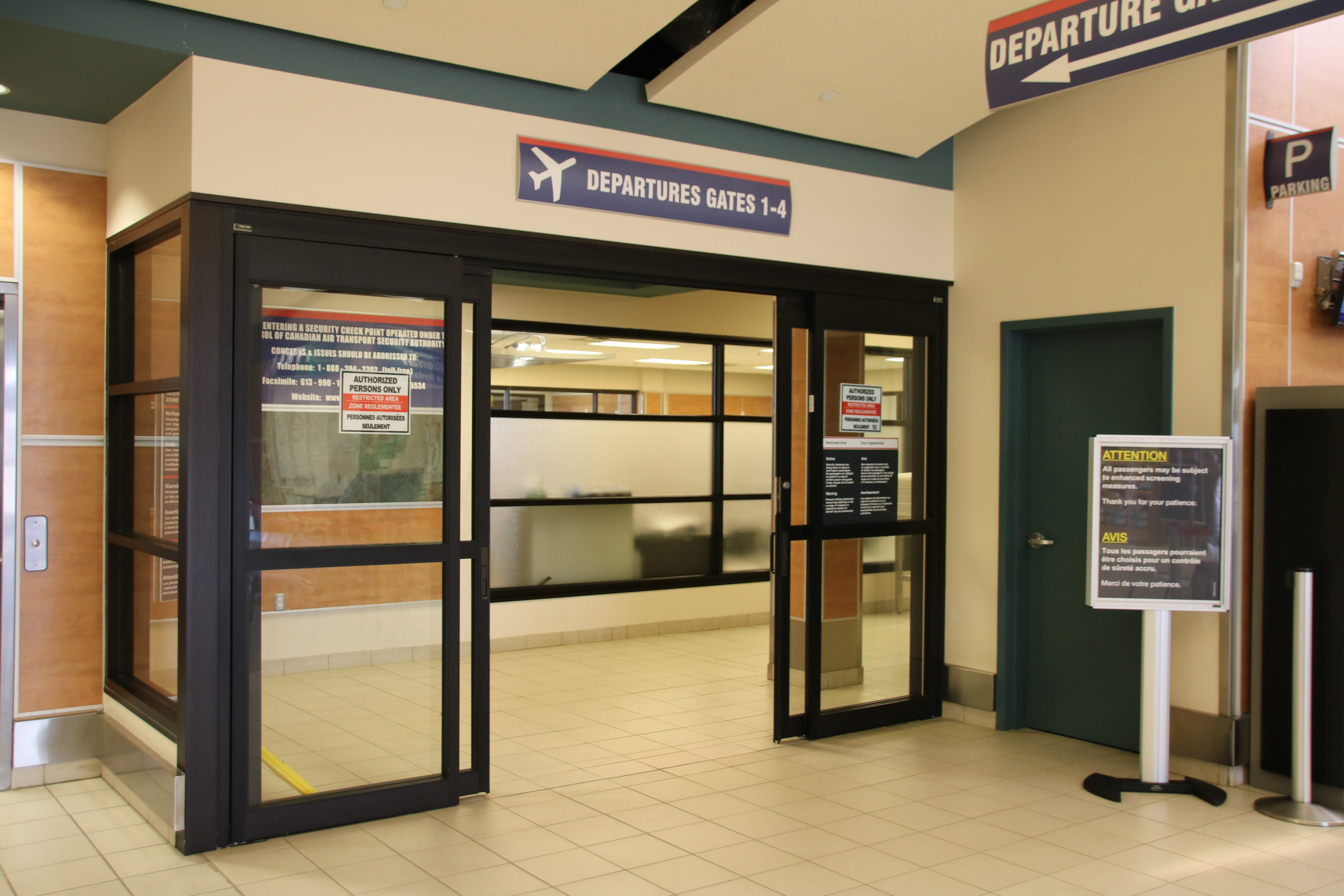 Second airport screening line now in use - My Grande Prairie Now