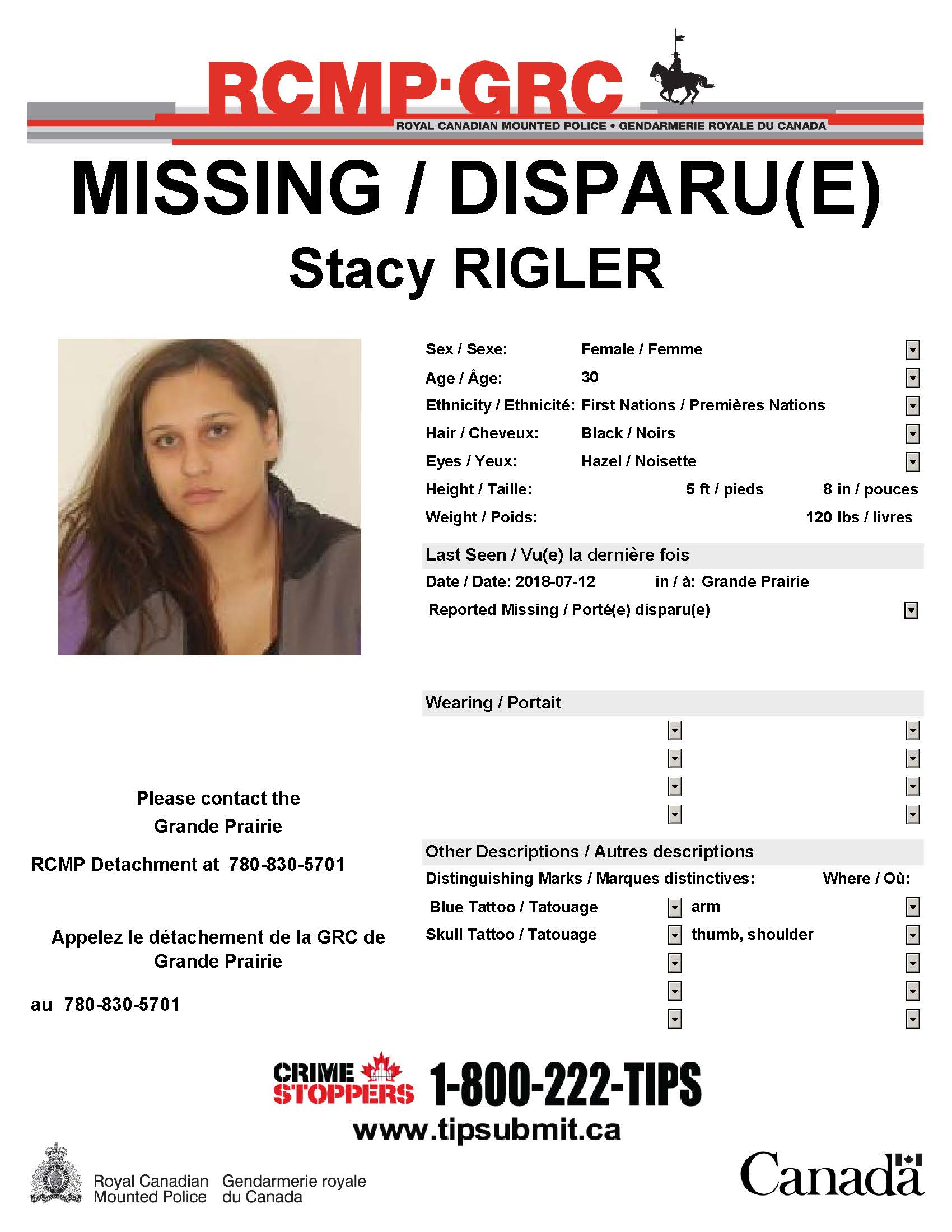 Missing woman dating site