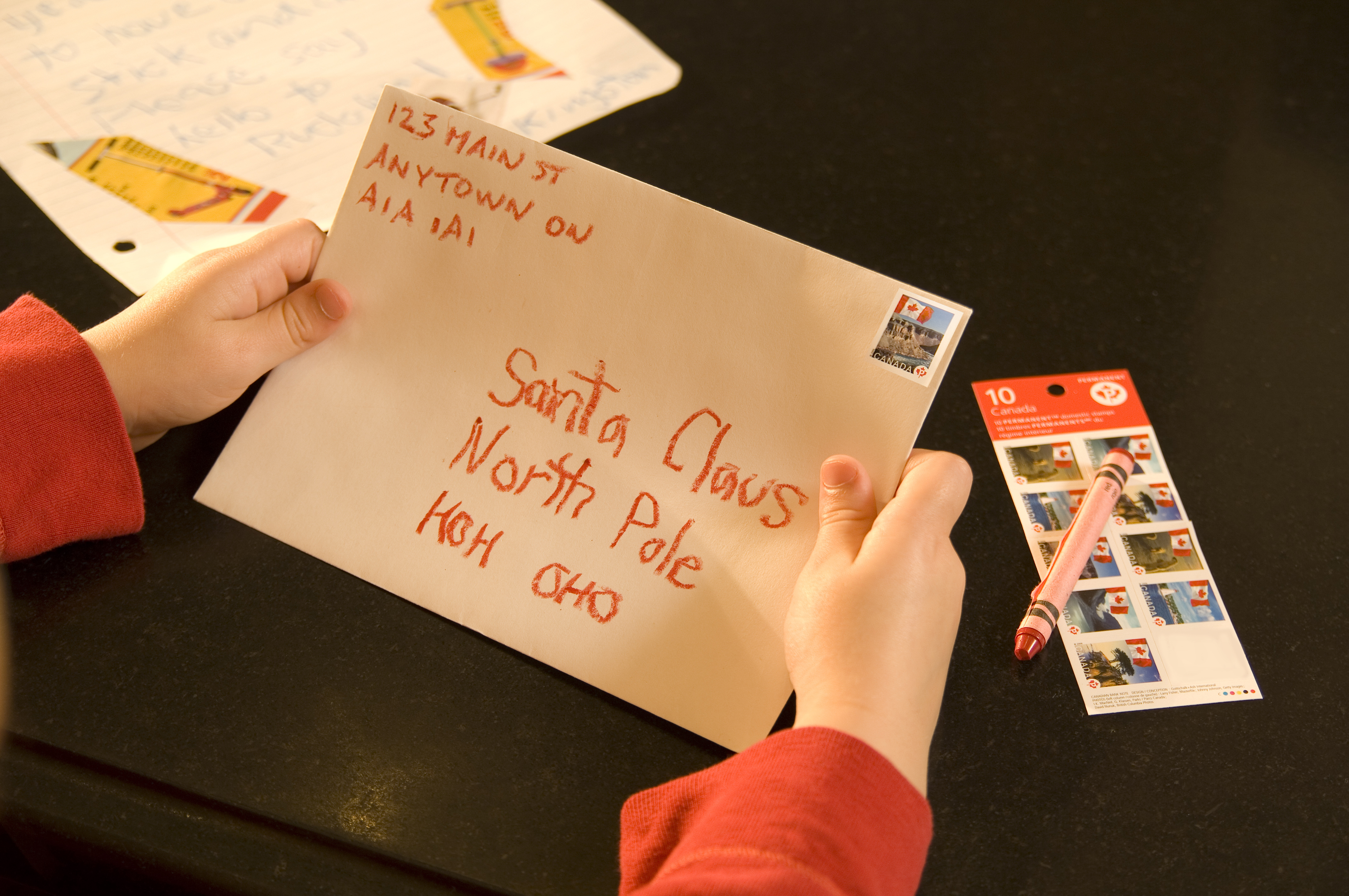 Postal Elves Collecting Letters To Santa Until December 10th My