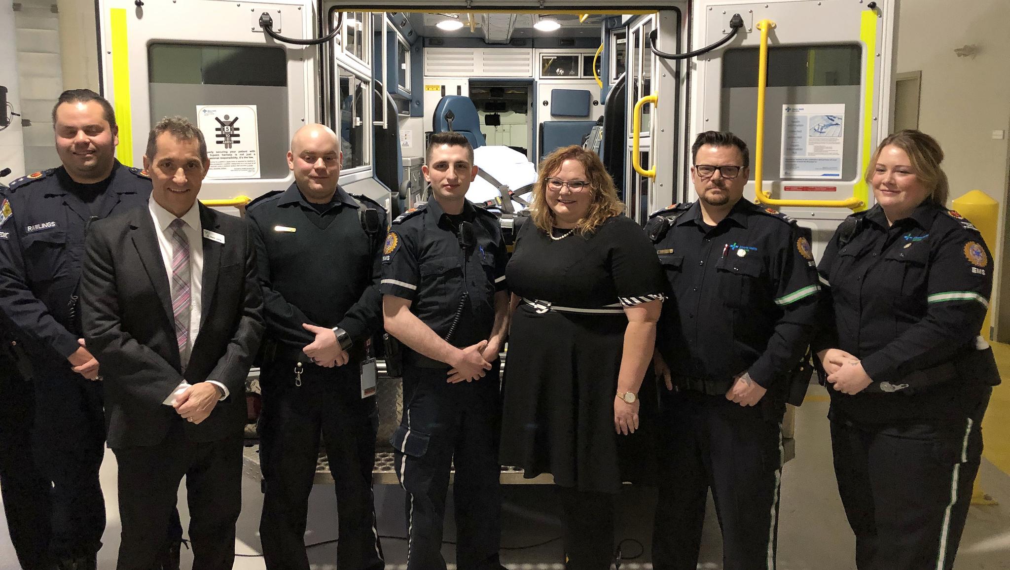 New ambulance, more paramedics heading to Grande Prairie - My Grande