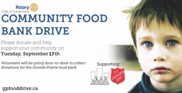 grande prairie salvation army food bank